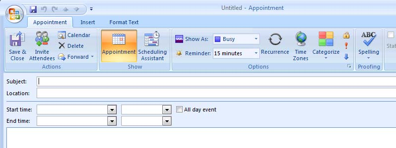 how to automatically add new appointments to icloud calendar