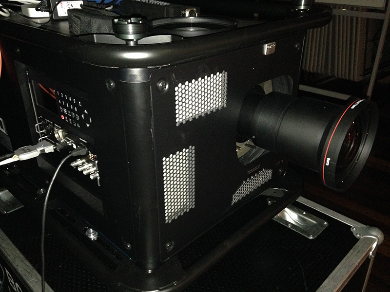 Freedom Youth 2014 - Barco Projector