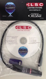 LSC Clarity 128 channel starter kit: license and USB adaptor