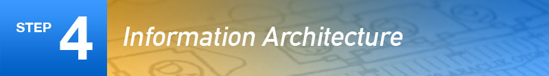 Step 4: Information Architecture
