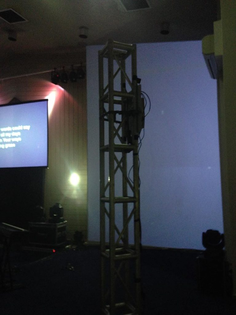 Projection Mapping - Truss Uprights