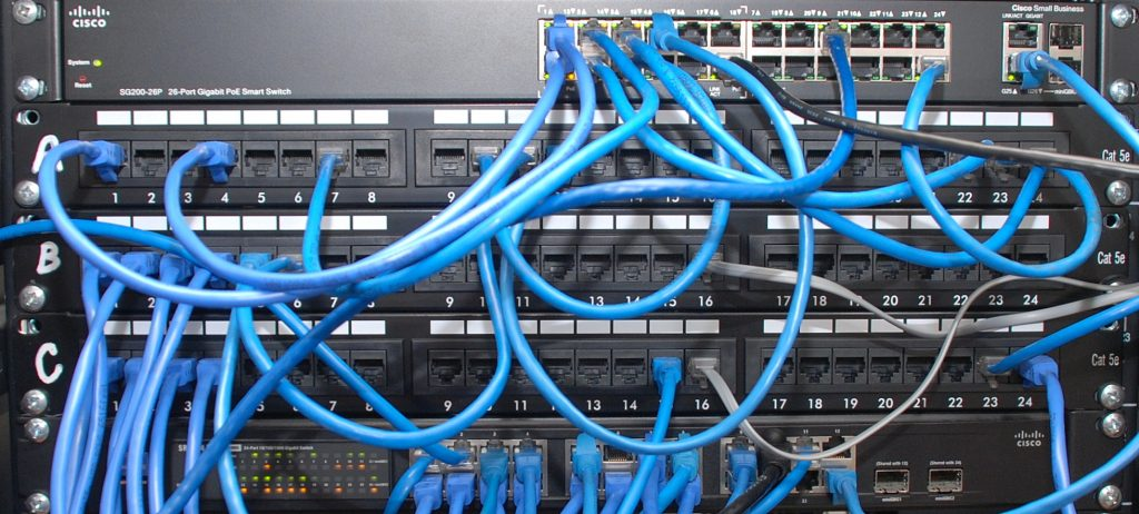 Broadcast Network Patch Bay