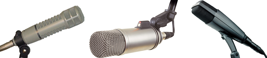 Radio Equipment: Microphones