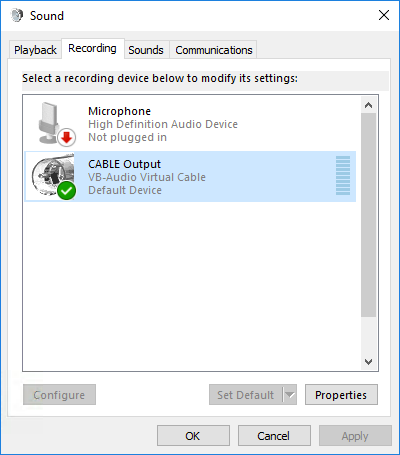 free virtual audio cable windows