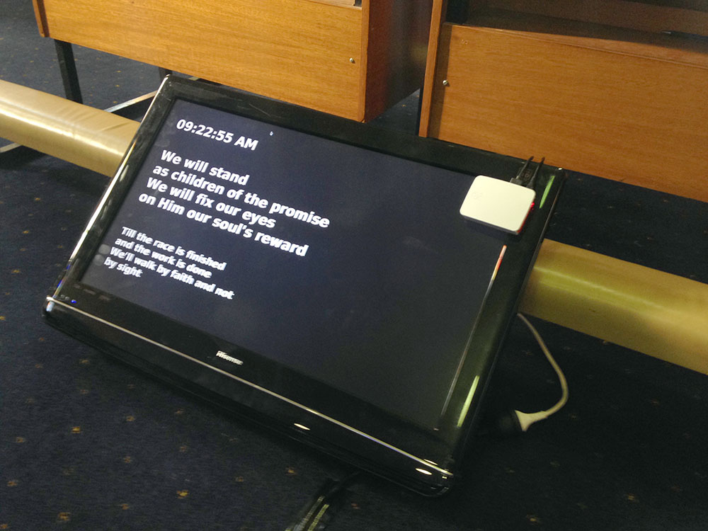 ProPresenter Stage Display for Raspberry Pi [Free Software]