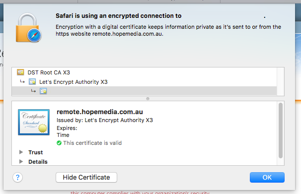 Let's Encrypt and Microsoft Exchange