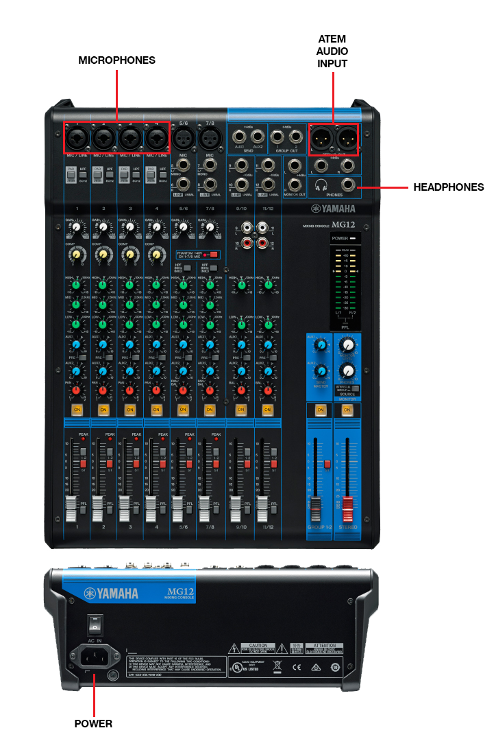 Live Streaming Setup Guide Obs Atem And Web Presenter Console Cable Wiring Diagram Free Picture Schematic Audio Connection