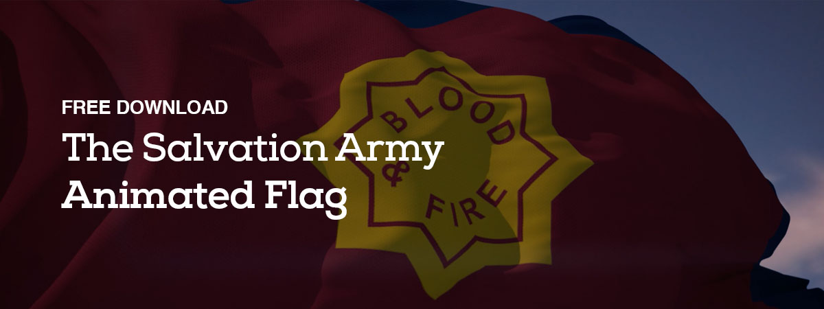 Free Download: The Salvation Army - Animated Flags